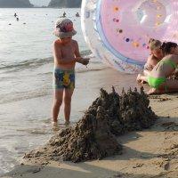 Замок на песке. :: Сергей Щелкунов