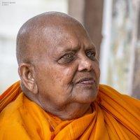 Буддийский монах. :: Edward J.Berelet