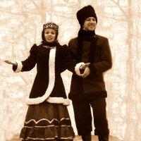 Мы с милёночком моим прогуляли до зари... :: Владимир Болдырев