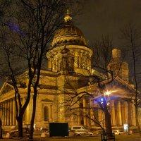 Исаакиевский собор вечером :: Михаил Ильяшевич