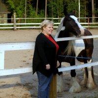 Девушка и лошадь :: Валерий Новиков