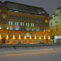 Зимняя ночь :: М. Дерксен Derksen