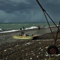 Наслаждаясь волной и ветром :: Ирина Данилова