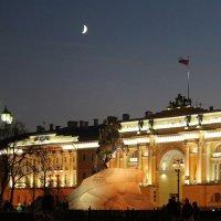 Вечер на Сенатской площади :: Вера Моисеева