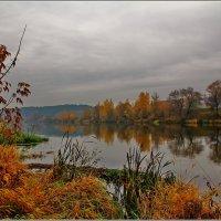 октябрь, Москва река :: Дмитрий Анцыферов