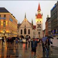 Старая ратуша на Мариенплац, в Мюнхене. :: Anna Gornostayeva