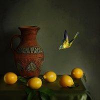 Натюрморт с лимонами :: Елена Чаусова