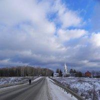 Зимняя дорога. :: Oleg4618 Шутченко