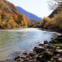 Горная река Абхазии :: Николай Николенко