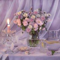Зажгу свечу осенней ночью... :: Валентина Колова