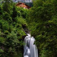 Рейхенбхский водопад. Швейцария :: Александр Новиков
