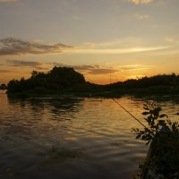 Вечерняя рыбалка на Оке :: sorovey Sol