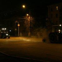 На уборке улиц :: Alexandr Shemetov