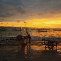 Рыбак и море :: Анжела Усманова
