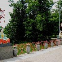Большой Китайский мост в Александровском парке :: Елена Павлова (Смолова)