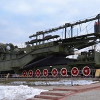 305 мм морская железнодорожная артиллерийская установка-транспортёр ТМ-3-12 (СССР) :: Владимир Болдырев