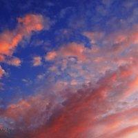 Небеса закатные. :: Антонина Гугаева