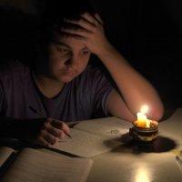 Уроки при свече :: Viktor Eremenko