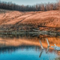 Голубое озеро :: Дмитрий Е