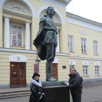 Памятники Москвы. А. Горький... :: Владимир Павлов