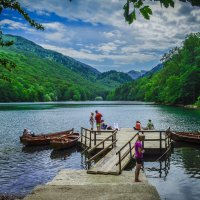 Черное озеро :: Kate Bahdanovich