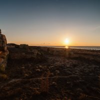 Фирменный закат на Кипре. :: Евгений Кот