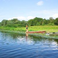 Юные рыболовы :: Валерий Судачок