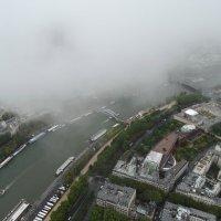 Туман над Сеной :: Светлана Лысенко