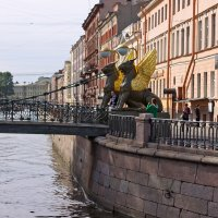 Банковский мост. Канал Грибоедова :: Наталья