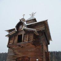 Спасская проезжая башня Илимского острога (1667 г.) :: Галина