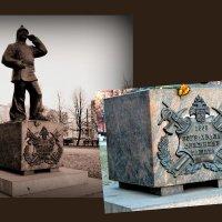 Памятник пожарному. :: Светлана Никольская