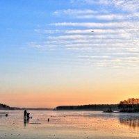Осенние рыбаки :: Андрей Куприянов