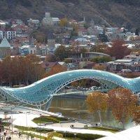 мост мира. тбилиси :: zaza 41 картвелишвили