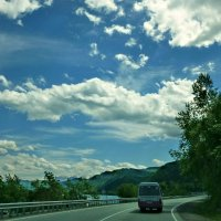 По дороге с облаками :: galina tihonova