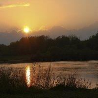 Закат над Клязьмой :: Любовь Нефёдова