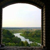 вид на реку Воронеж из заброшенного дома отдыха :: Татьяна_Ш