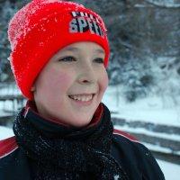 Сегодня с утра идет снег... :: Anna Gornostayeva