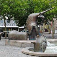 фонтан Нюрнберга с единорогом :: Сергей Цветков