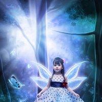 Маленькая фея :: Надежда Тихонова _  Nadin Ti  _