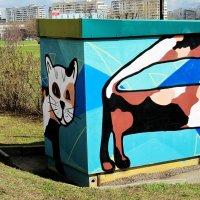 Кошка за углом :: Николай Дони
