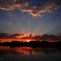 Солнца лучи на закате. :: Антонина Гугаева