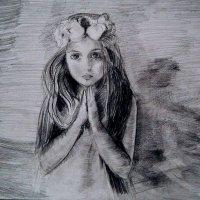 .....Девочка молится о мире в Украине :: Oksana