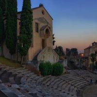 римский театр. :: Ирэна Мазакина