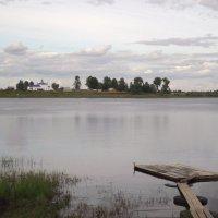 Вид на мошинский Погост. :: ПК