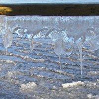 Ледяная бахрома :: val-isaew2010 Валерий Исаев