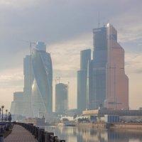 Москва-Сити :: Дмитрий Сушкин