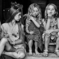 Рассуждали о своём, о родном, о женском :: Ирина Данилова