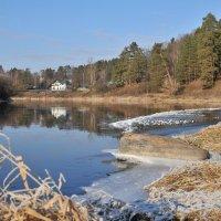 река Руза в ноябре :: Андрей Куприянов