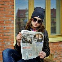 Заголовок на газете :: Дмитрий Конев