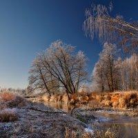 Первый лёд на Гуслице... :: Roman Lunin